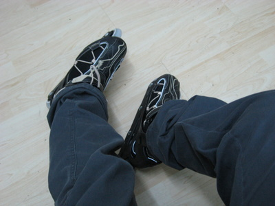 On Roller Shoes