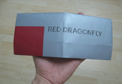 Red Dragonfly Wallet Back